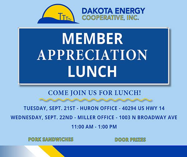 Member Appreciation Lunch