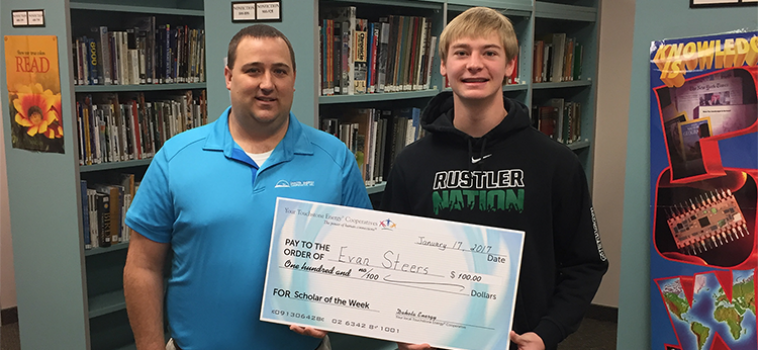 Touchstone Energy Scholar of the Week