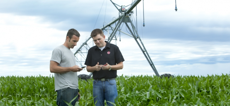 A Sensible Solution – Huron-based Company Puts Irrigation Control in Palm of Farmer's Hands