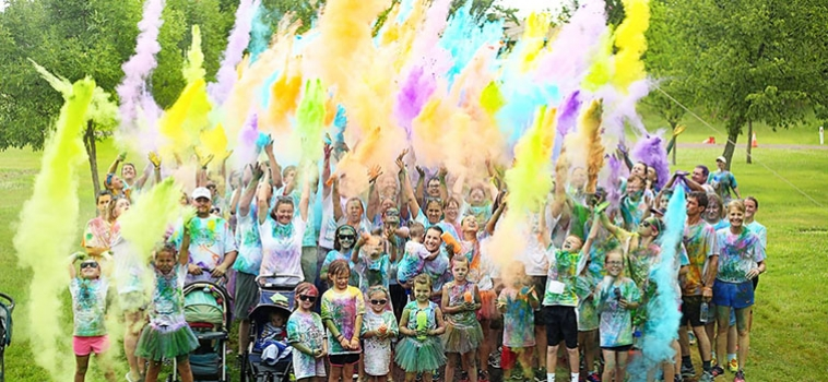 Hands of Hope Color Run